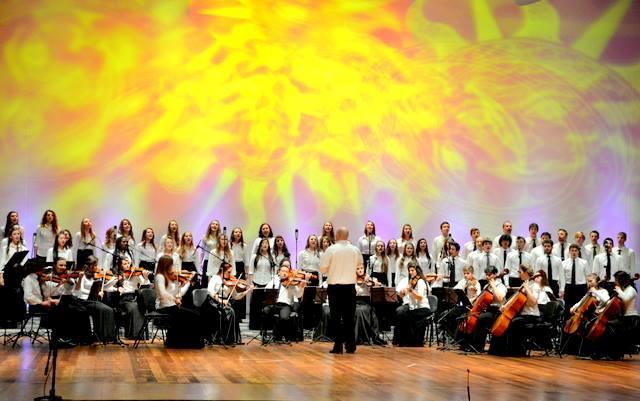 Concerto em homenagem ao cinquentenário da cidade de Ivoti.