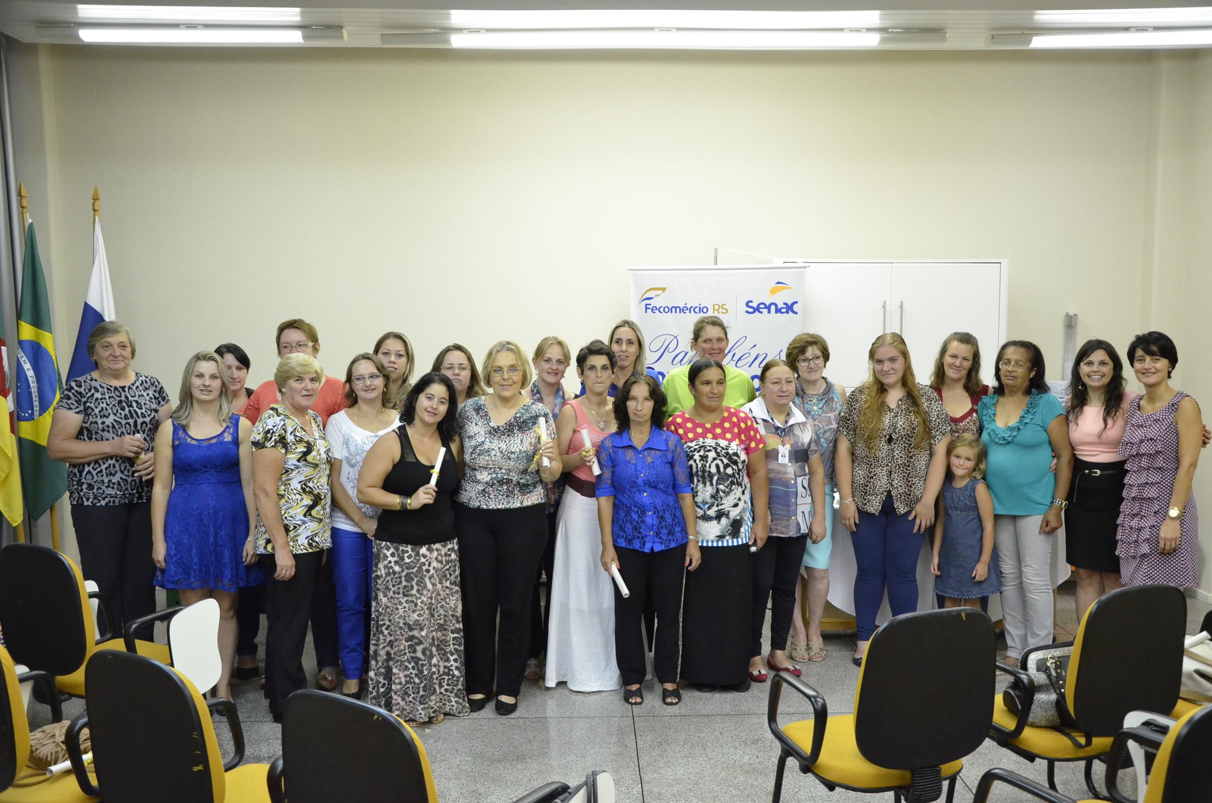 Turmas do Pronatec recebem diploma em Nova Petrópolis