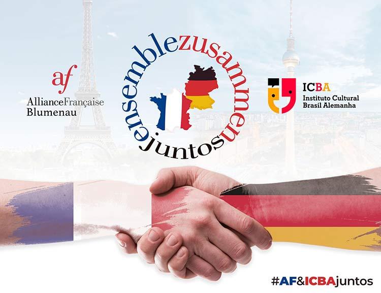 Aliança Francesa e Instituto Cultural Brasil-Alemanha (ICBA) irão compartilhar a mesma sede em Blumenau, SC