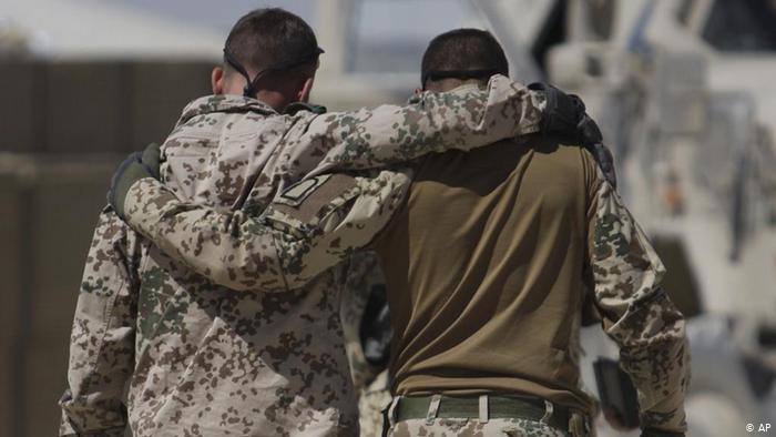 A segunda guerra dos veteranos alemães do Afeganistão