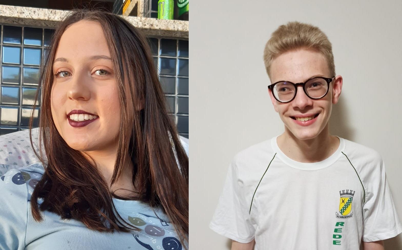 Estudantes representam Schroeder em Concurso de Leitura em Alemão