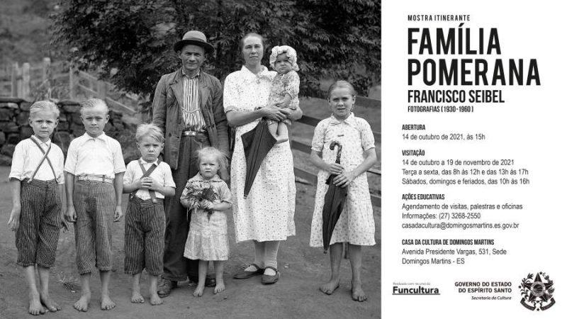 Exposição fotográfica faz homenagem às famílias pomeranas no Espírito Santo