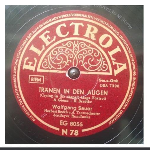 Que músicas ouviam as famílias alemãs há 100 anos atrás? Confira essa raridade!