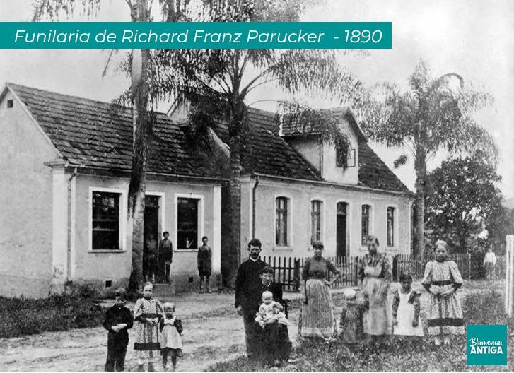 História: Funilaria de Richard Franz Parucker (1864-1908)