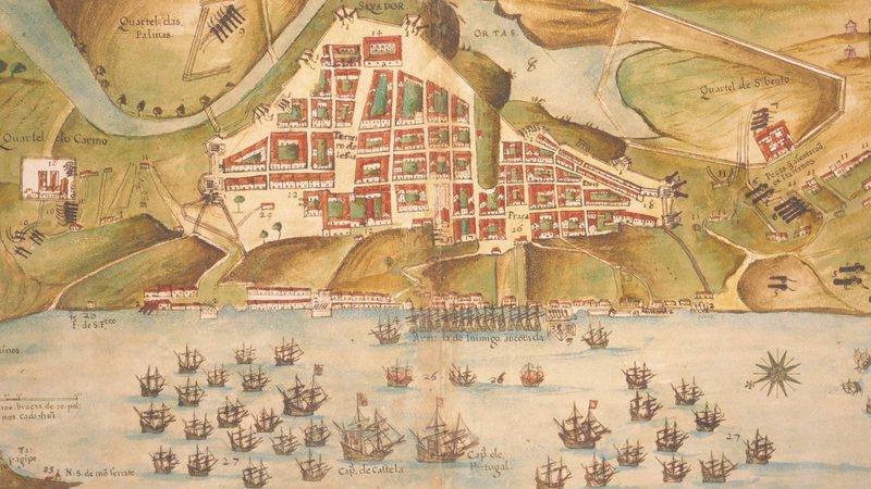 A fundação de uma colônia alemã na Bahia por Georg Anton von Schaeffer